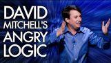 David Mitchell's Angry Logic