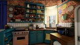 Monica's Apartment From Friends in Unreal Engine 4