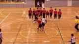 DODGE BAL ASIAN CUP JAPAN VS HONGKONG