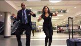 Dancing at the Airport