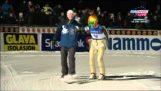 שיא עולם חדש קפיצות סקי: 246,5 מטרים