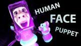 HUMAN FACE Puppet !!!