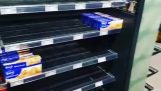 A German shop removes all foreign products from its shelves to combat racism