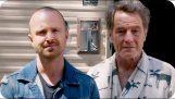 Aaron Paul discovers Bryan Cranston is living in Breaking Bad's motorhome
