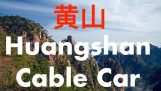 Cable Car at Yellow Mountain | Huangshan = Huang (Yellow) Shan (Mountain)