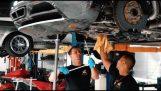 ทำไมจึงเปลี่ยนน้ำมันใน Bugatti Veyron ค่าใช้จ่าย $ 21,000