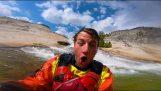 falaise Kayak descente avec Dane Jackson
