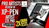 XP-Pen Artista 22E Pro HD display IPS Grafikmonitor Disegno Tablet Grafiktablett