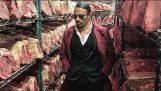 Salt Bae Cutting The Best Meat In Nusret Steakhouse