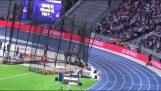 Lonah Chemtai Salpeter ลืมตักใน 5000m