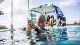 שיא עולם ב דום נשימה טבילה נקבה חינם (97m)