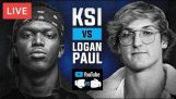 LIVE KSI VS LOGAN PAUL FIGHT