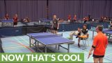 One of the most unbelievable ping pong shots ever