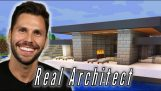 What happens if you ask an architect to build a mansion in Minecraft?