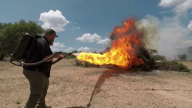Flamethrower Vs Elon Musk Flamethrower Videoman