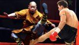 Kung Fu Monk vs Kickboxers