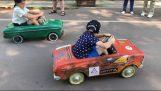 auto soutěž pedál