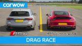 بورشه 911 GTS مقابل أودي RS4
