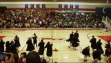 Beautiful choreography with the theme of Harry Potter