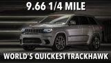 Může 2500 kilogram SUV klesnout pod 10 sekund na čtvrt míle?