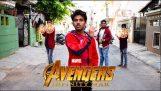 Avengers nieskończoność wojna najdziwniejsze przyczepa kiedykolwiek indian spoof