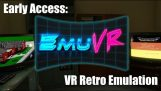 Playing old games inside a virtual reality game