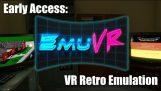 Odtwarzanie starych gier wewnątrz wirtualnej rzeczywistości gry