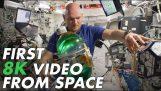 Den första 8K video filmad från rymden