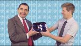 Mr. Bean receives the Diamond button to reach the 10 million subscribers on YouTube
