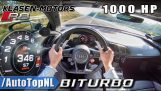 1000HP Audi R8 V10 plus biturbo