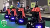 RoboCup 2018 finale: Tech United vs CAMBADA