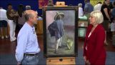A man discovers that a painting he had is valued at 1 million dollars