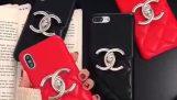 Chanel Iphone Xs / Xs Max späť kufrík karta Chanel iPhone XR kryt zásielkový