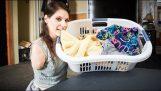 Можете да урадите кућне послове без руку и ногу?
