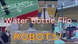 Contest of bottle flip robots (Japan)