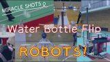Wedstrijd fles flip robots (Japan)