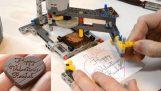 Лего чоколада пантограф