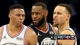 NBA All Star Game 2019 – LeBron team contra a equipe Giannis Destaques