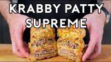 Осъществяване на Krabby Върховния от Спондж Боб