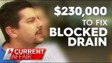 Plombier charge 230 $,000 pour toilettes bloquées