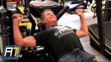 72 år gamle Sylvester Stallone trening for Rambo 5: Siste Blood
