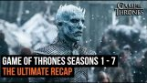 The Ultimate Game of Thrones oppsummering Seasons 1 – 7