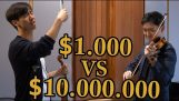Difference between a $1000 and a $10,000,000 小提琴