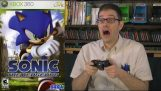 Angry Videogame Nerd playing Sonic 2006