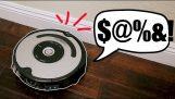 Roomba Asta tipetele Cand ciocnește Stuff