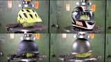 Which is the most resistant helmet?