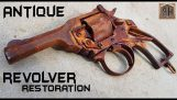 restoration of an old and rusty revolver
