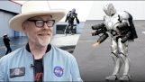 Adam Savage has created an Ironman suit