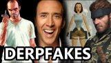 Nicolas Cage in videogames (deepfake)