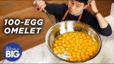 Гигантски 120-Egg Omelete